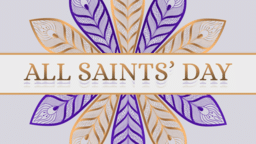 All Saints' Day Flower  PowerPoint Photoshop image 1