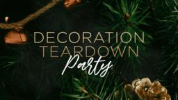 Decoration Teardown Party  PowerPoint Photoshop image 1