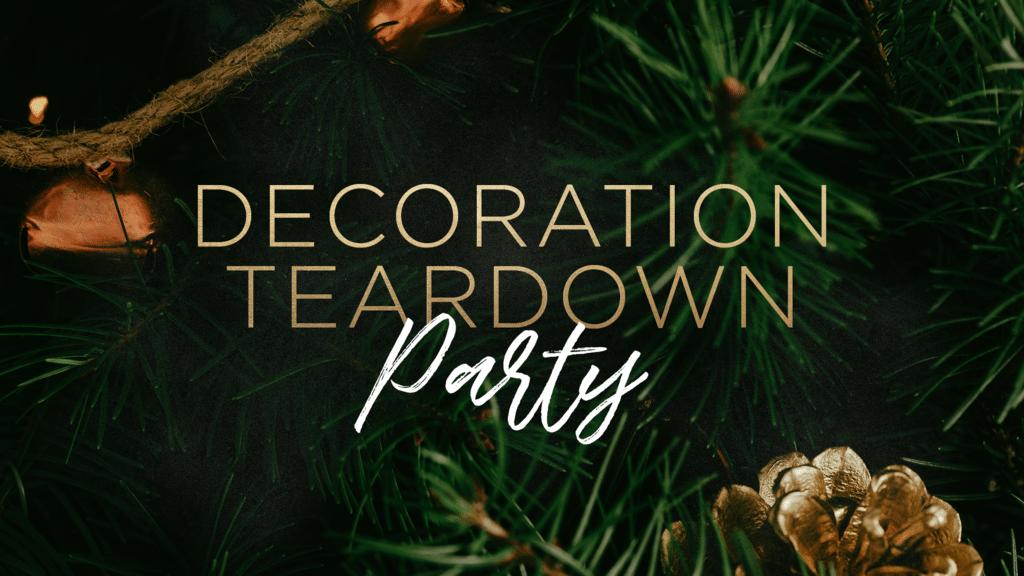 Decoration Teardown Party large preview