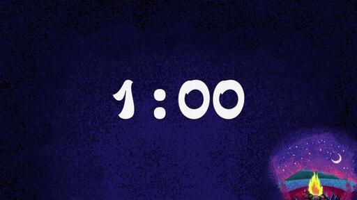 Countdown 1 min