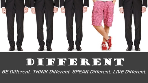 Different #3 - SPEAK Different