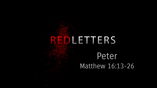 Red Letters - Peter