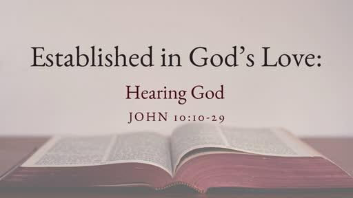 Established in God's Love: Knowing God