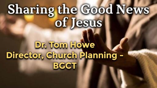 Sharing the Good News of Jesus
