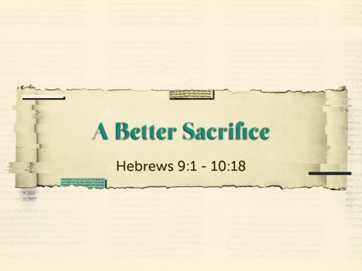 A Better Sacrifice