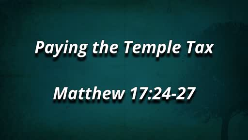 Paying the Temple Tax