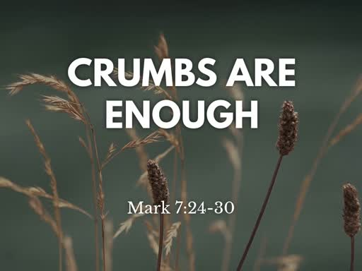 Crumbs are Enough