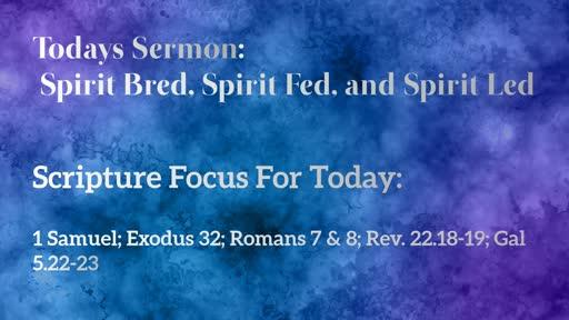 Sunday 10-20-19 Morning Service