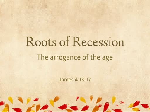 Roots or Recession