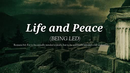 Life and Peace (Being Led)