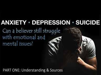 Understanding Anxiety, Fear and Depression, Sunday October 27, 2019