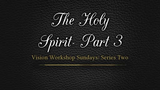The Holy Spirit in the OT--Part 3_ Pastor Georgia Harris