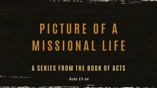 Picture of a Missional Life