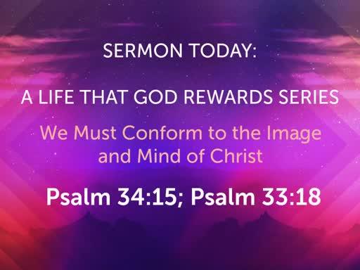 October Sunday Worship- A Life That God Rewards Series