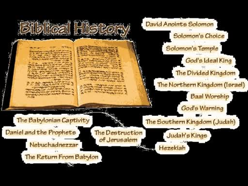 Bible - The Historical Account