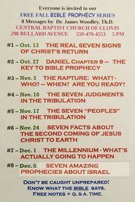 The Real Seven Signs of Christ's Return