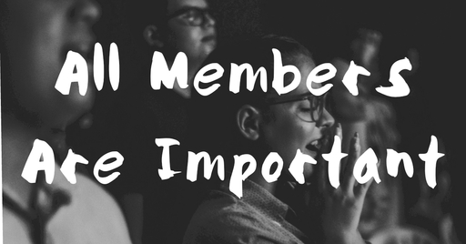 All Members Are Important