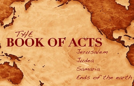 Sunday, November 3rd  - The Book of Acts - Acts 13:4-41