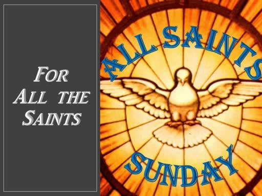 11-03-19 All Saints Sunday