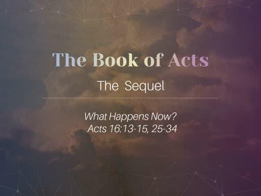 Nov 3 - Acts 16