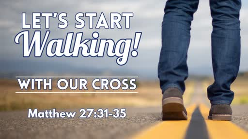With Our Cross - November 3, 2019