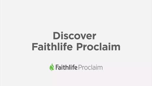 Discover Faithlife Proclaim