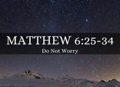11/3/2019 - Do Not Worry
