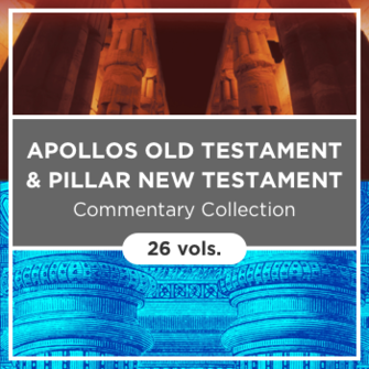 Apollos Old Testament (AOT) and Pillar New Testament (PNTC) Commentary Collection (26 vols.)