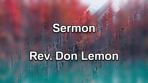 11-3-19 PM Sermon