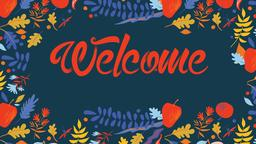 Harvest welcome 16x9 PowerPoint Photoshop image