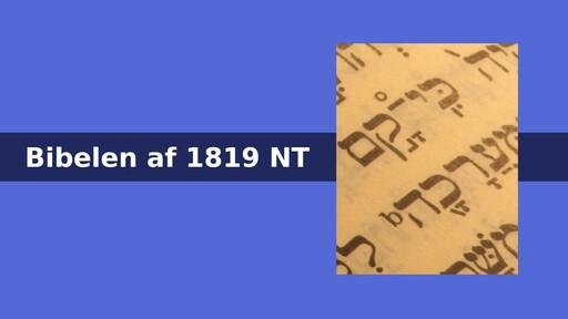 Bibelen NT1819