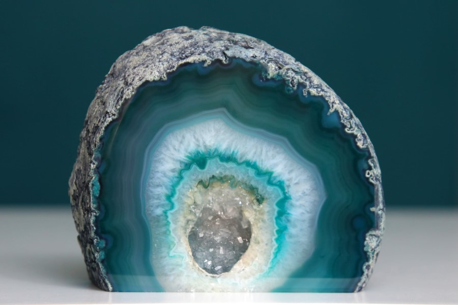 http://www.dreamstime.com/royalty-free-stock-image-geode-blue-green-agate-crystal-cut-base-closeup-image32314896