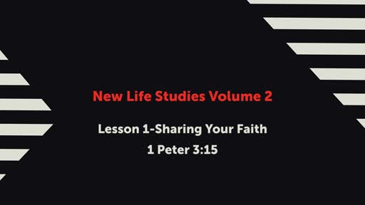 NLS-1:Sharing Your Faith
