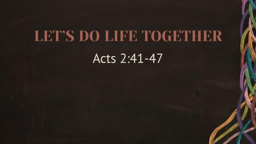 Let's Do Life Together