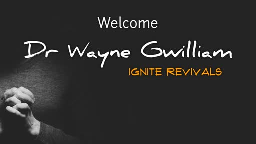 Guest speaker: Wayne Gwilliam 2019