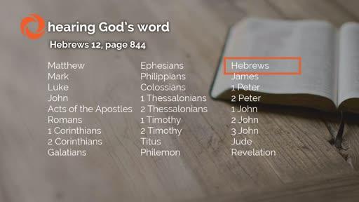 Hebrews 12 - Dan Anderson