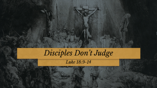 Disciples Live by Faith