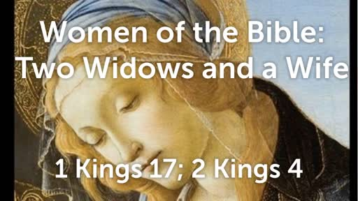 Two Widows and a Wife
