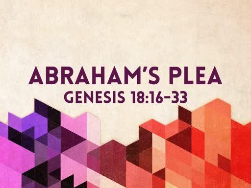 Abraham's Plea