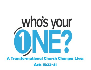 A Transformational Church Changes Lives