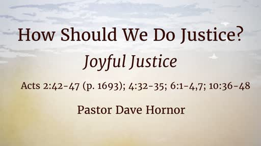 How Should We Do Justice?