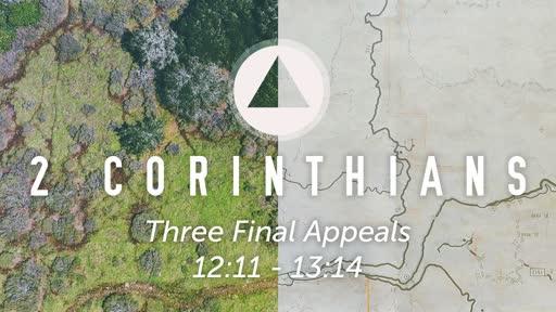 Sunday, November 10 - PM - Three Final Appeals