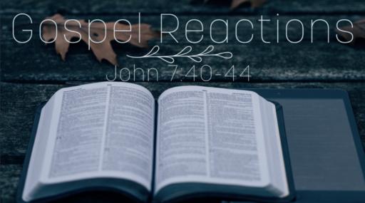 Gospel Reactions