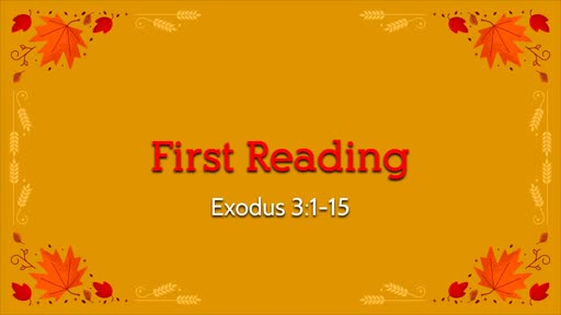 November 10, 2019 Service of the Word