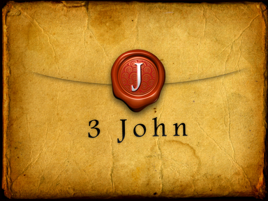 3 John: Encouragement and Confrontation