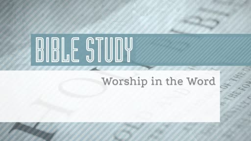 Changing Worry Into Worship
