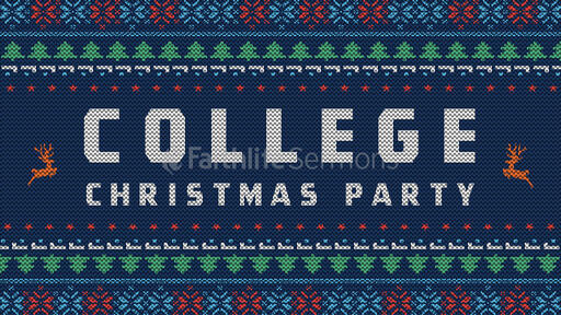 College Christmas Party