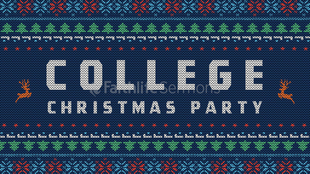 College Christmas Party large preview
