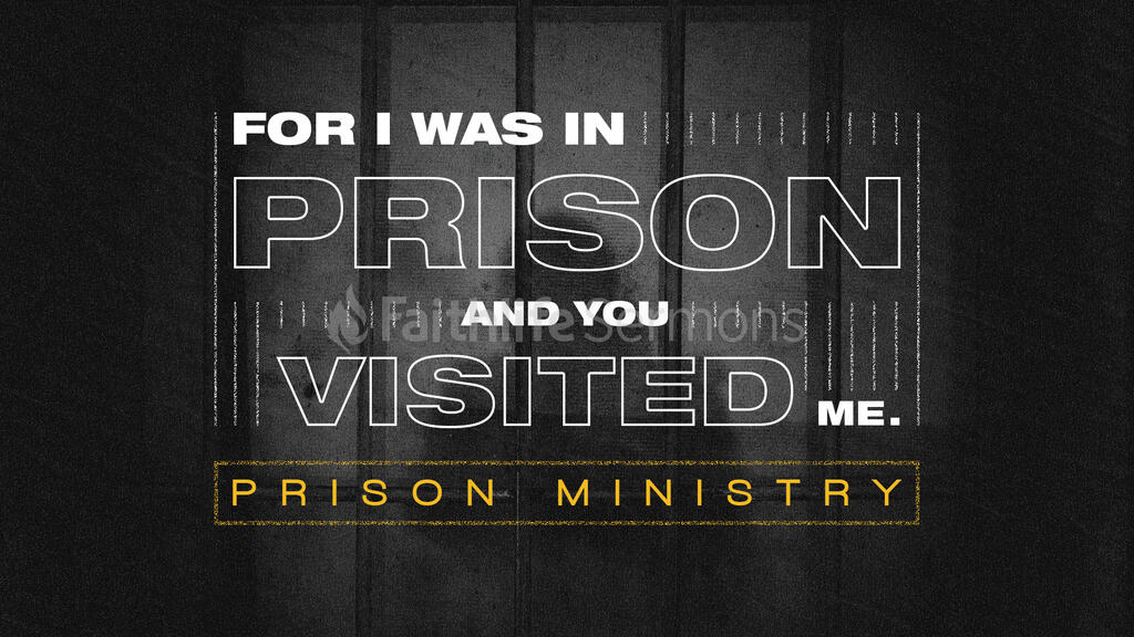 For I Was In Prison large preview