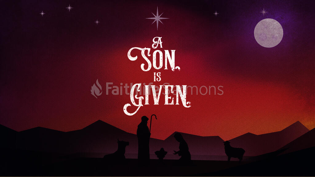 A Son Is Given large preview